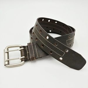 💥 3/$25 Brown Italian Leather Belt Made in Canada